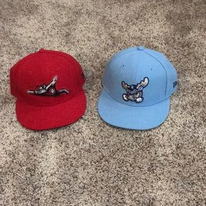 Minor League Authentic On-Field Cap Bundle